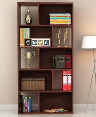 sheesham solid wood book cabinet