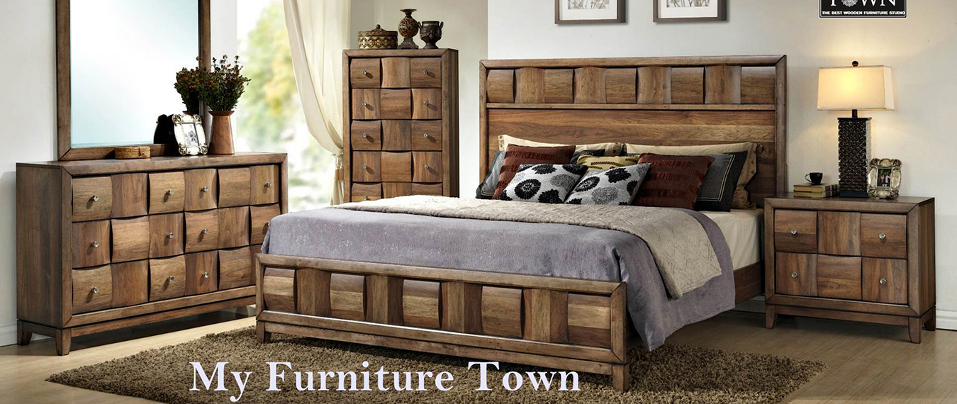 Sheesham Wooden King Size Bed