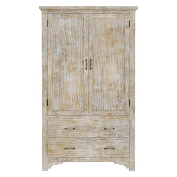 solid wood distress Finish Wardrobe