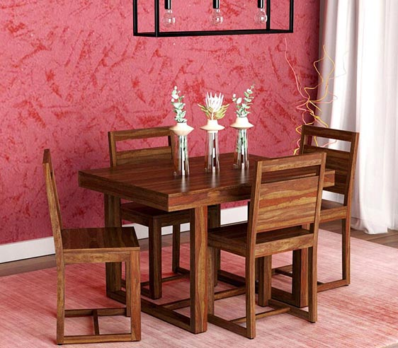 FOUR SEATER DINNING SET